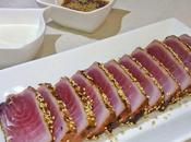Tataki atún ajoblanco Cocinas Mundo (Japón)