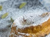Torrijas tradicionales azúcar cardamomo