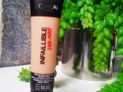 Review Base Maquillaje Infalible 24H-Mate L'Oréal Paris VOLVERÉ COMPRAR