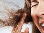 Cómo reparar temporalmente puntas abiertas antes corte pelo