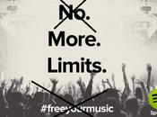 Spotify podría terminar servicio gratuito música