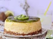 Cheesecake limón kiwi