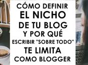Cómo definir nicho blog