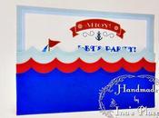 Ahoy!! Navegando Voy...Cumpleaños Marineros.