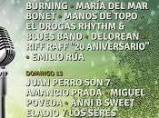 Festival 2015: Burning, Juan Perro, Amancio Prada, Miguel Poveda, Drogas, Delorean...