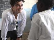 Orlando Bloom visita Liberia como embajador buena voluntad Unicef