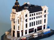 Madrid construido LEGO