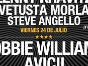 Robbie Williams suma Hard Rock Rising Barcelona julio
