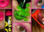 Maquillaje complementos fluorescentes
