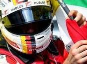 bandera Ferrari apellida Vettel