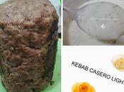 Kebab light casero