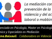 mediación como prevención violencia acoso laboral mobbing