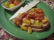 Tosta tomate (bruschetta pomodoro)