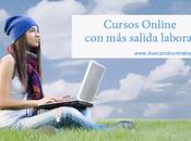 Cursos online salida laboral