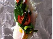 Pescado empapelado, receta
