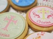 Galletas papel azúcar comunión madre