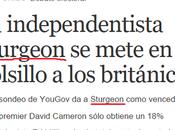 Sturgeon, independentista sabe dónde
