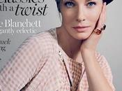 Cate Blanchett luce increíble para Vogue Australia