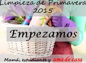 Limpieza primavera 2015 ¡Empezamos!