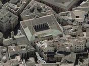 Tejas vidriadas cubierta Edificio Lorenzana, Toledo