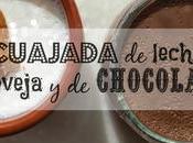 Receta mamia cuajada leche oveja chocolate