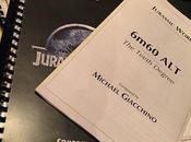"""jurassic world"": pequeño fragmento compuesta michael giacchino"