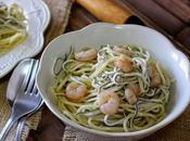 Espaguetis gulas gambas