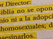 Polémica diario chileno carta habla matar homosexuales