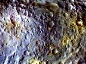 Dawn revela diversidad superficie Ceres mapa color
