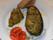 Berenjenas rellenas verduras aguacate