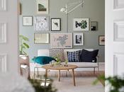 casa escandinava fresca natural