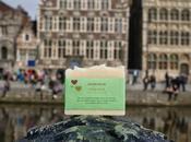 Jabones felices viajeros Bélgica