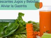 Excelentes jugos bebidas naturales puedes tomar para aliviar gastritis