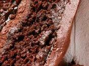 Pastel chocolate, ciruela Armagnac (vegano)
