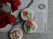 Como decorar galletas rosas