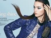 Jenna Earle luce pelo liso para Vogue Taiwan