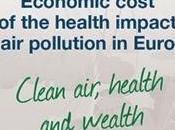 OMS-OCDE: Coste económico impacto salud contaminación aire Europa