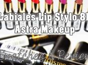 Labiales Stylo Astra Make Review Swatches