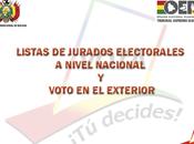 jurado electoral Jurados Electorales para elecciones generales Bolivia 2014