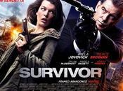 "Nuevo quad póster para ""survivor"" pierce brosnan milla jovovich"