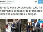 Pedro Sánchez: Perdido Soria
