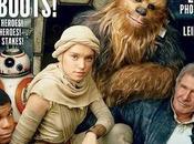 Harrison Ford posa nuevo elenco Star Wars Chewbacca) para cubierta Vanity Fair ,foto Annie Leibovitz