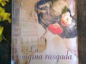 página rasgada, Nieves Hidalgo