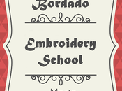 Escuela Bordado: tipos puntos Embroidery School: types stitches