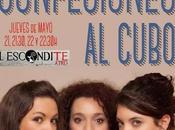 """Confesiones cubo"" llega sala Esconditeatro."