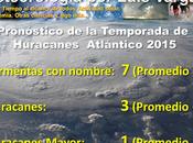 adelanta temporada Huracanes 2015 para Atlántico. forma Tormenta Ana.