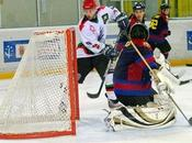 Hockey Hielo: Aramón Jaca ganó Barcelona. mantiene cabeza Liga sobre hielo.