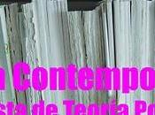 "Convocatoria primer número revista: ""Crítica contemporánea. Revista Teoría Política"""