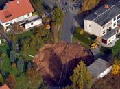 socavón tamaño piscina traga coche Alemania