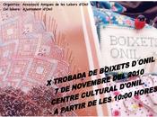 Onil. Encuentro Bolillos Onil 2010 Concentración Caballos Villa